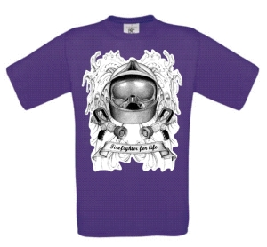 t shirt purple